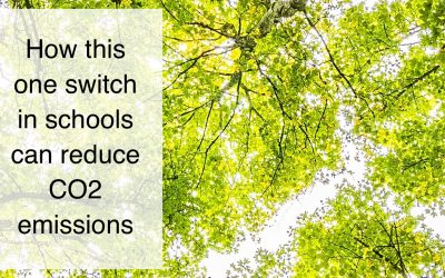 How this one switch in school can reduce CO2 emissions