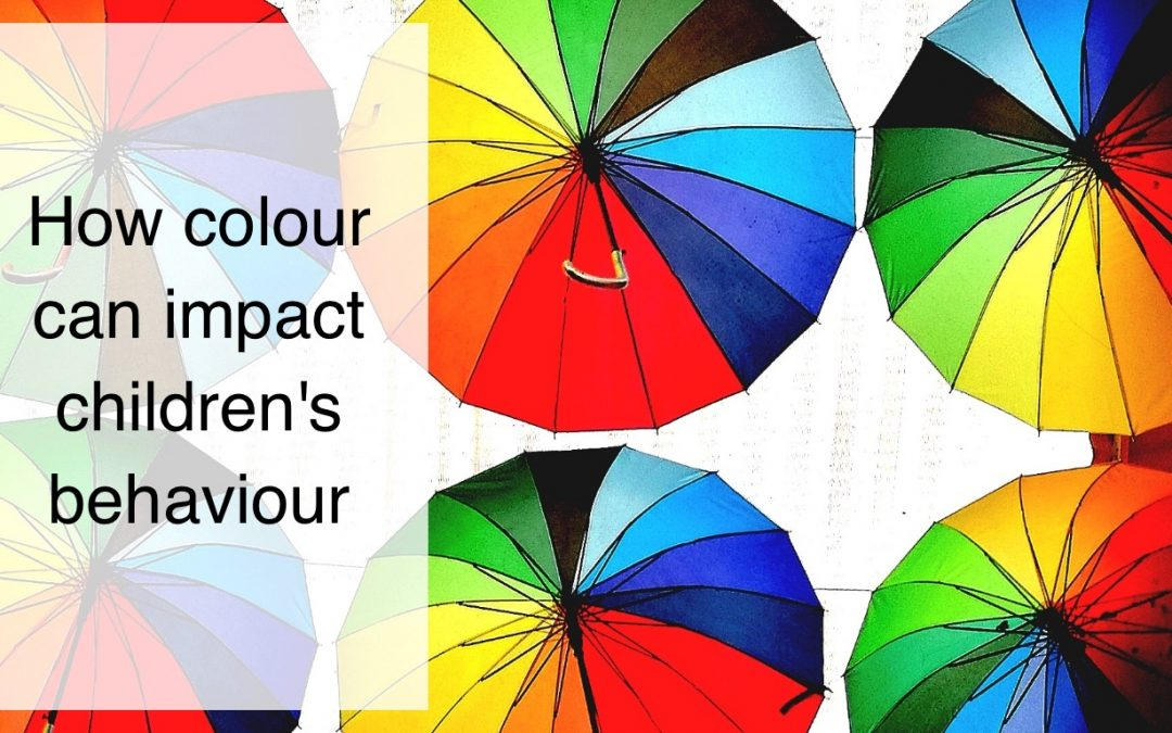 How colour can impact children's behaviour